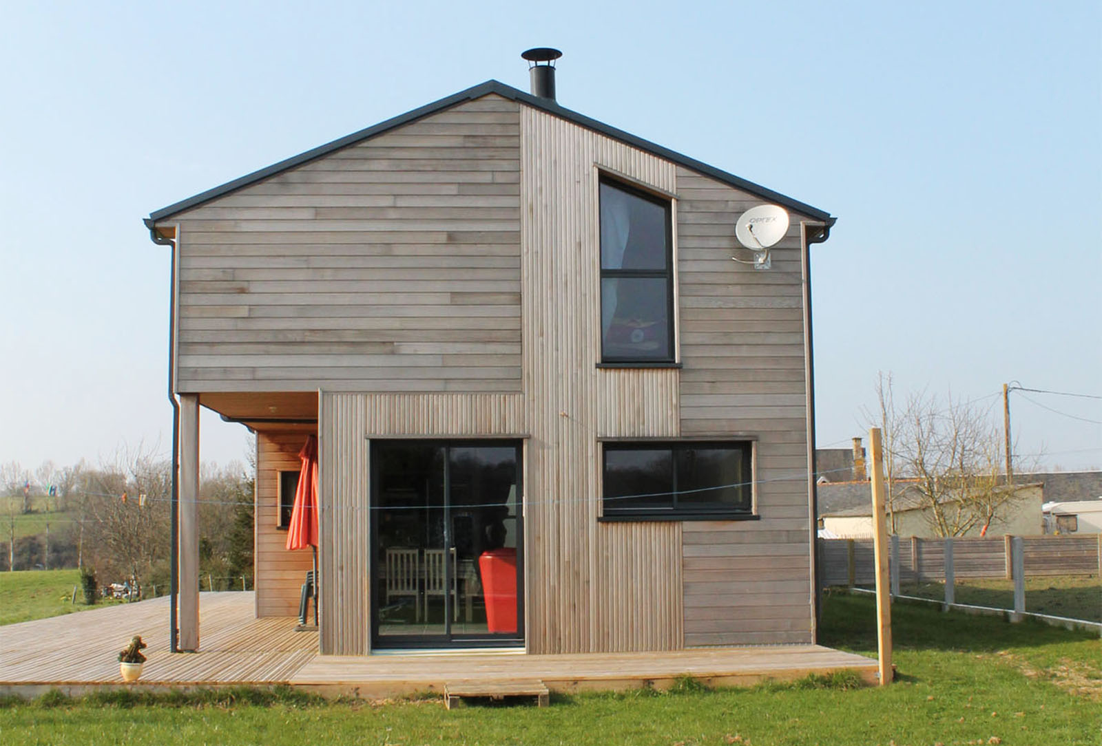 Maisons volutives maisons evolutives awesome maison for Maison modulaire moderne